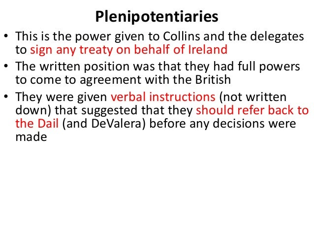 anglo irish treaty negotiations Difp news: anglo-irish treaty ebook now available  (difp) series has published an ebook of confidential correspondence on the 1921 anglo-irish treaty negotiations.