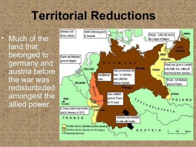 how damaging was the treaty of Which part of the treaty of versailles was the most damaging to the future peace of europe.