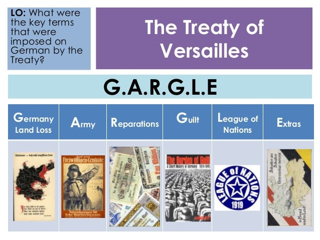 treaty of versailles and league of Treaty of versailles lesson plan 9th grade world history benchmark: have students find a different political cartoon related to the treaty of versailles or the league of nations and write a brief essay or prepare a presentation addressing the following: a.