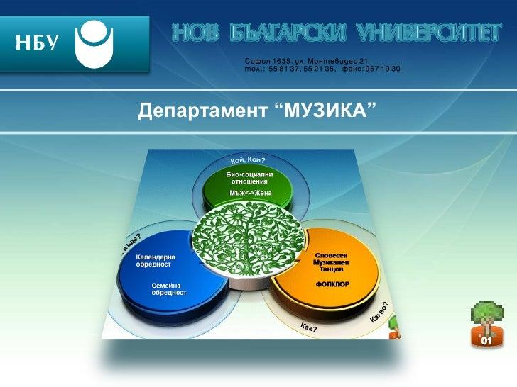 """Департамент """"МУЗИКА"""""""