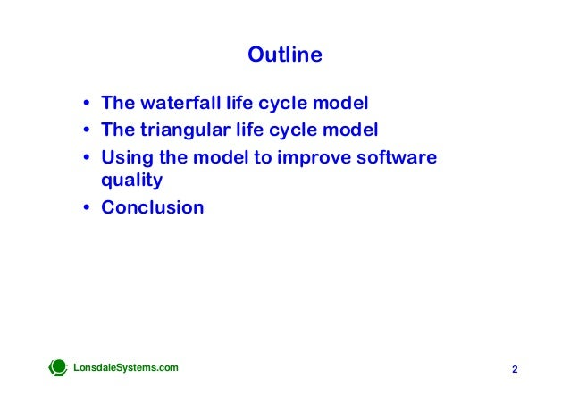 The Triangular Life Cycle Model Slide 2