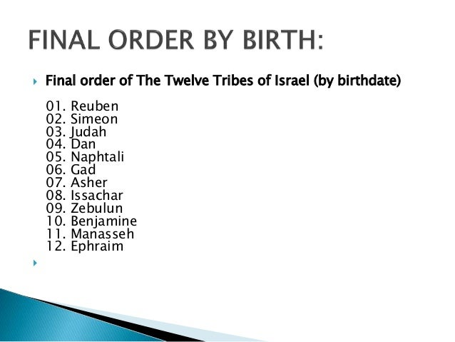The Tribe Of Issachar