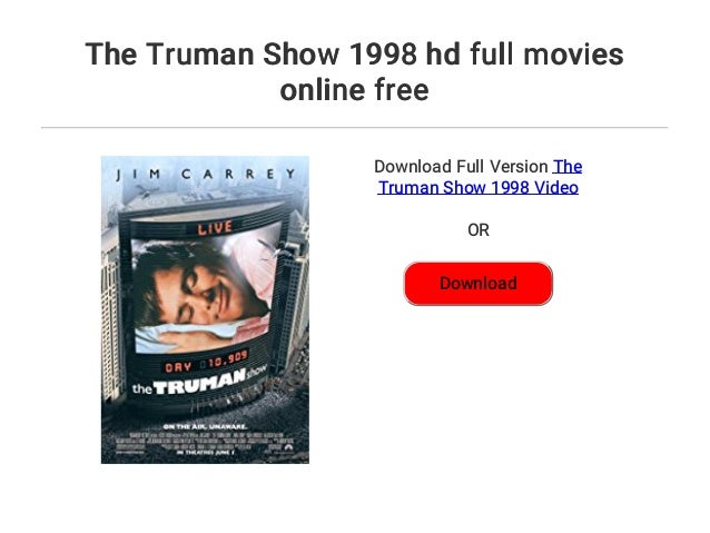 the truman show stream deutsch