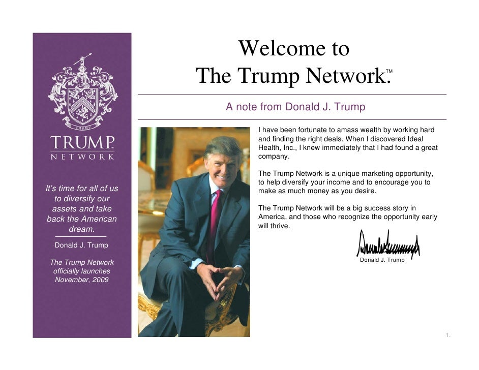 The Trump Business Presentation