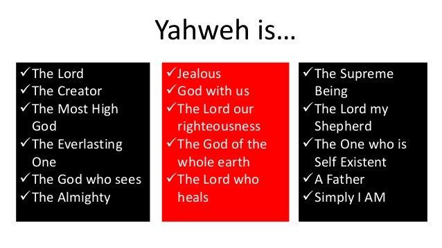 Image result for Yahweh, Elaha, Creator God