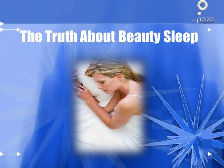 The Truth About Beauty Sleep<br />
