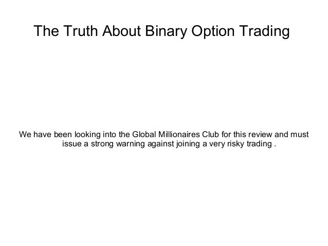 the global binary option review