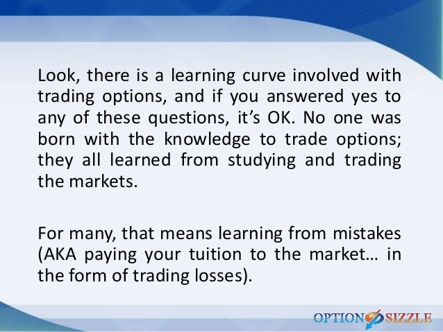Truth about options trading