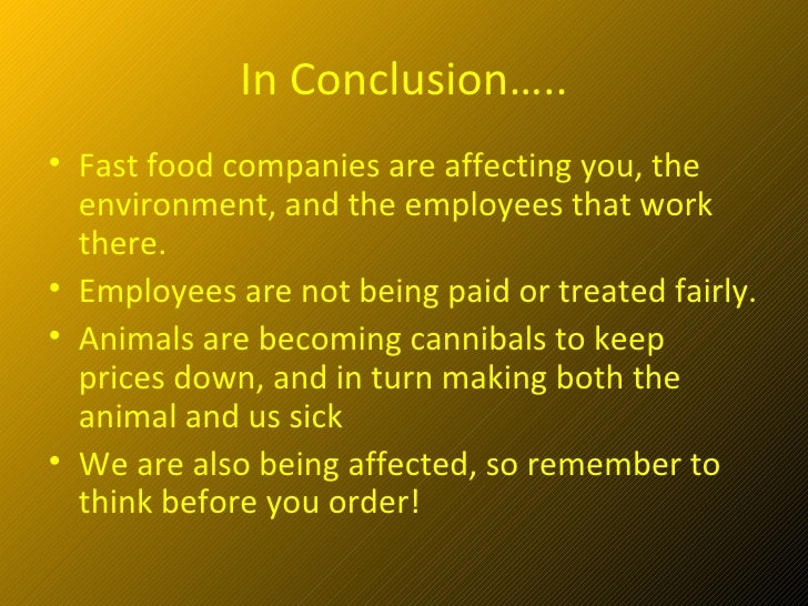 Fast Food Employees Treated Unfairly