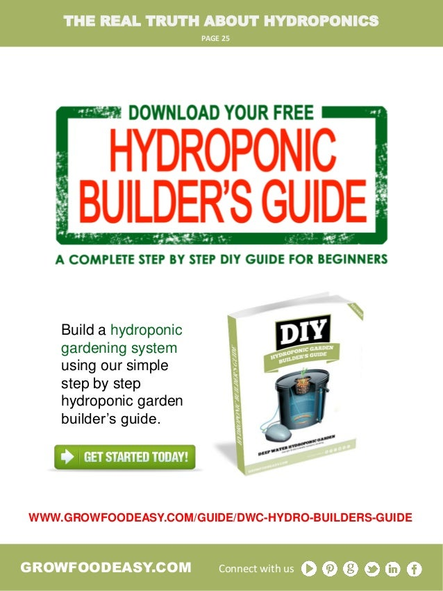 The Real Truth About Hydroponic Gardening