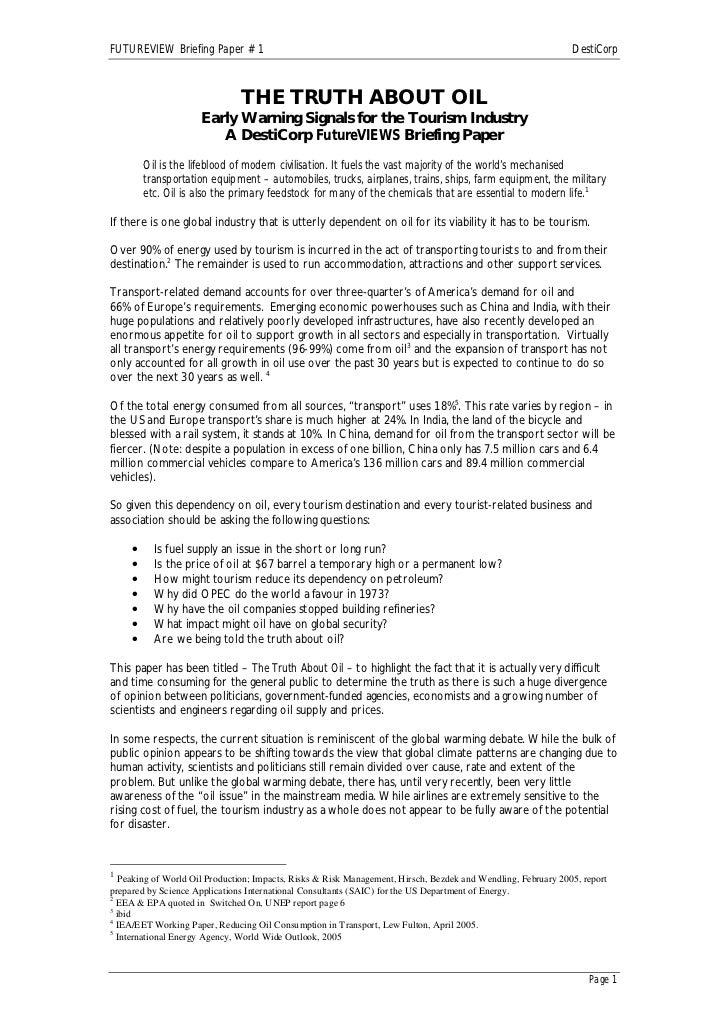 FUTUREVIEW Briefing Paper # 1                                                                                  DestiCorp  ...