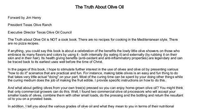 The Truth About Olive Oil Audiobook Free   Audiobook For Self Develo…