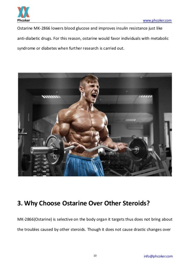 The truth you need to know before using mk 2866(ostarine)