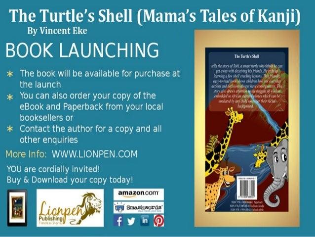 The turtles shell mamas tales of kanji book launching invitation the turtles shell mamas tales of kanji book launching invitation slideshare presentation stopboris Image collections