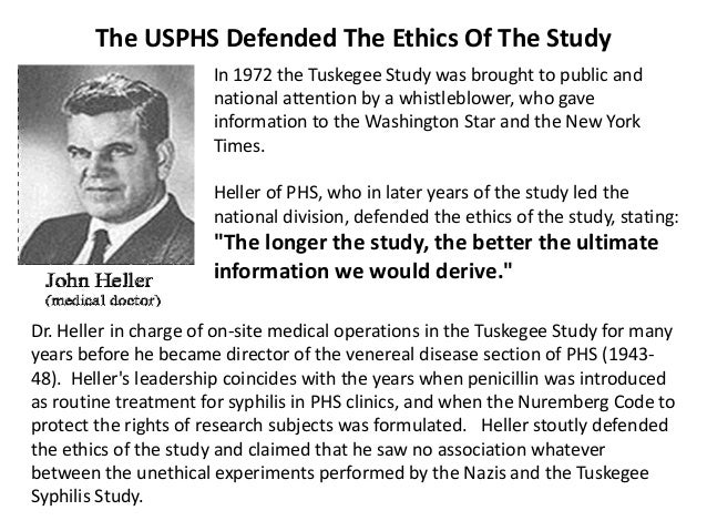 the tuskegee syphilis research study Rethinking the tuskegee syphilis study  of the worst examples of arrogance,  racism, and duplicity in american medical research--the tuskegee syphilis study.