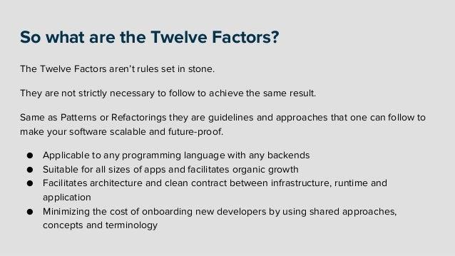 The Twelve-Factor App Slide 2