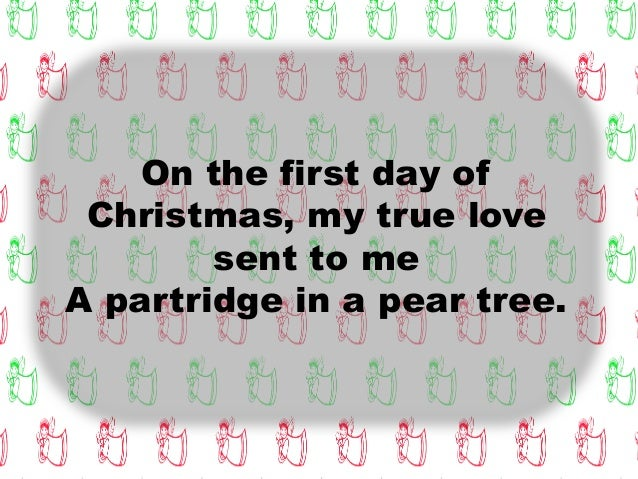 three days of christmas Like many christmas songs, the 12 days of christmas has  between christ's  birth and the arrival of the magi (aka three kings or wise men.