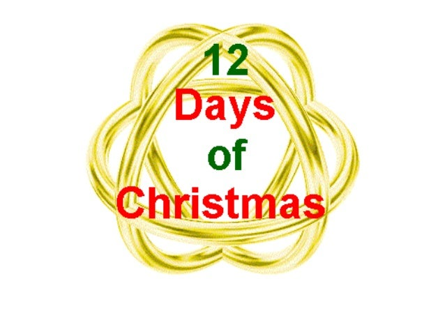On the first day of Christmas, my true love gave to me …
