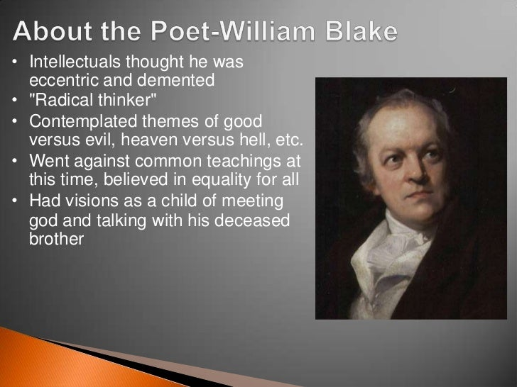 the cycle of questioning in the tyger by william blake In the poem, the tyger, william blake uses metaphors, symbols, and rhetorical questions to ponder the motive of a creator to add depth in a poem, the use of metaphors is effective.