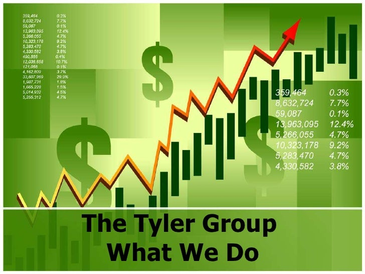 The Tyler Group  What We Do