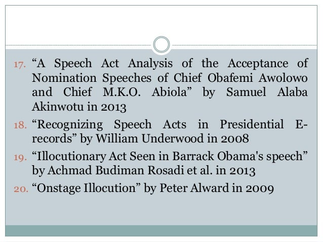 pragmatic analysis of speech act Pragmatic analysis of teachers' language towards an empirically based approach proaches to speech act analysis.