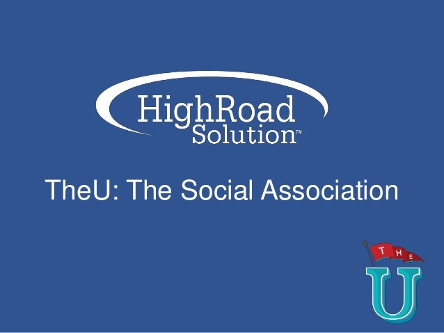 TheU: The Social Association