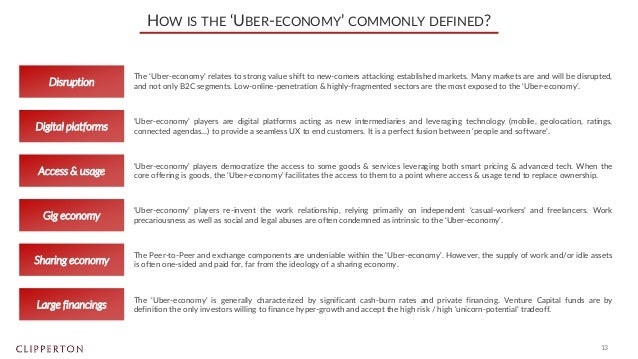 The 'Uber-Economy': how marketplaces empowering casual