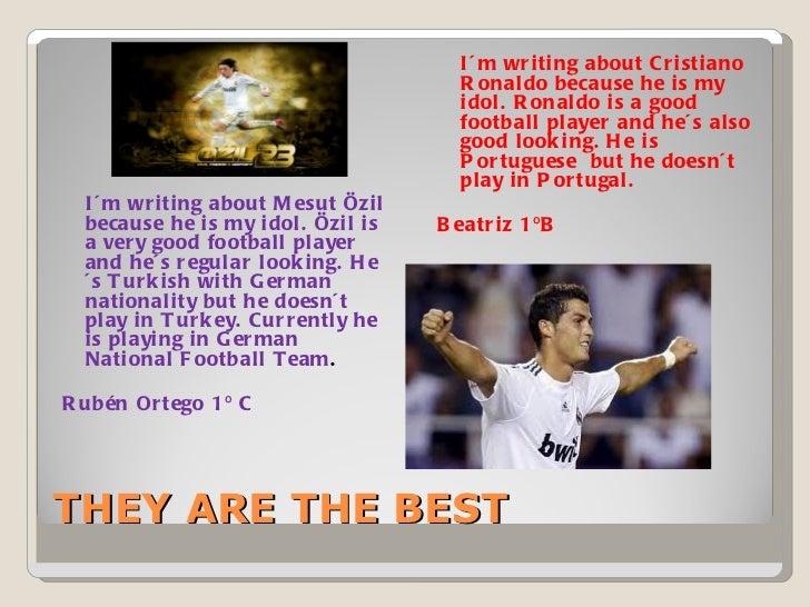 my favourite sportsman cristiano ronaldo essay
