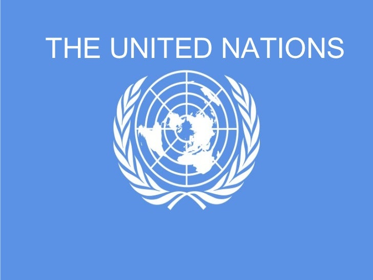 THE UNITED NATIONS©sp