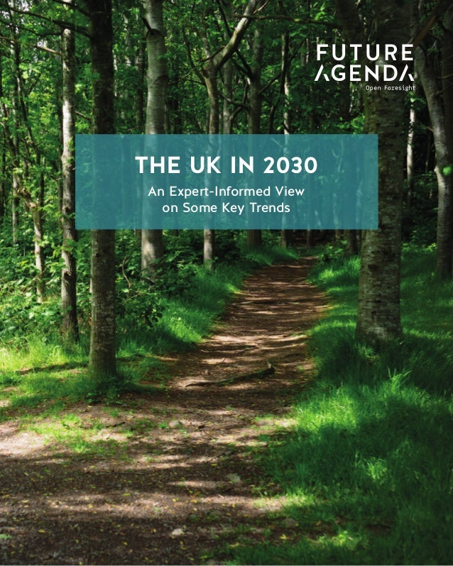 1 The UK in 2030 An Expert-Informed View on Some Key Trends THE WORLD IN 2030 Data Taxation THE UK IN 2030 An Expert-Infor...