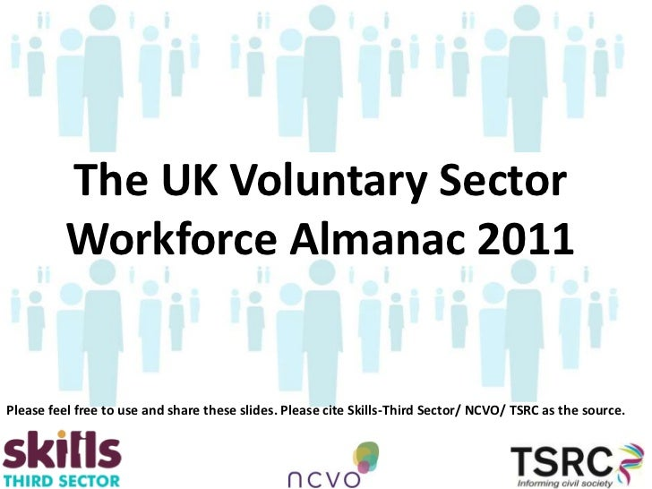 The UK Voluntary Sector          Workforce Almanac 2011Please feel free to use and share these slides. Please cite Skills-...