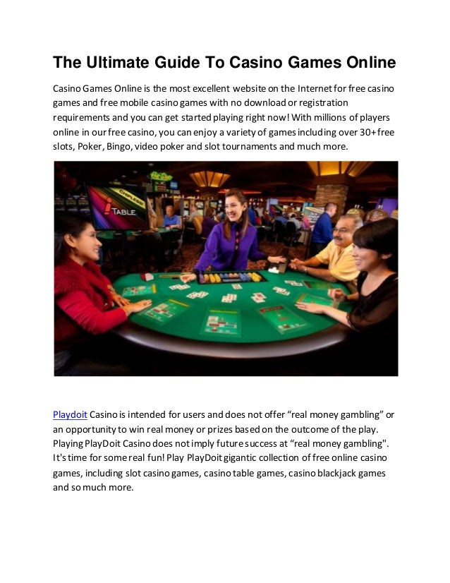 Online casino games free for fun
