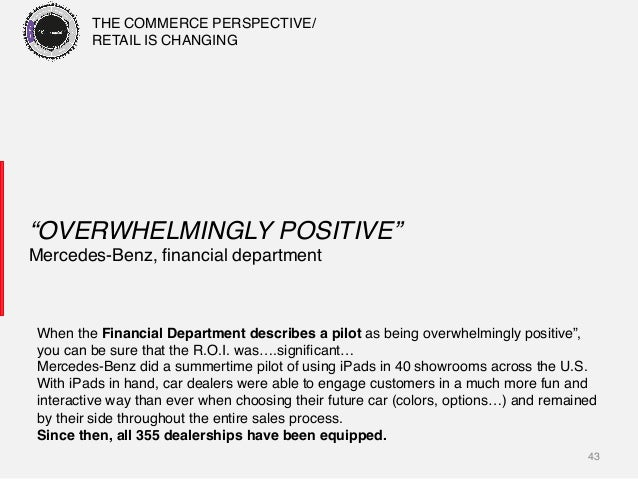 "43! ""OVERWHELMINGLY POSITIVE""! Mercedes-Benz, financial department! When the Financial Department describes a pilot as bein..."