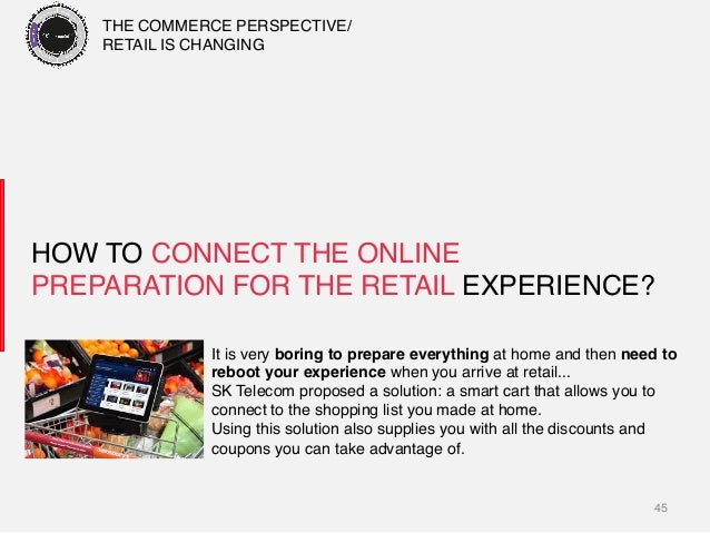 45! HOW TO CONNECT THE ONLINE PREPARATION FOR THE RETAIL EXPERIENCE?! It is very boring to prepare everything at home and ...