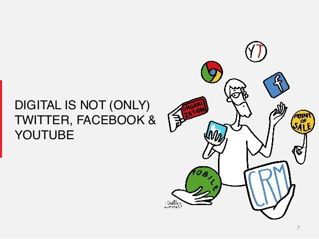 7! DIGITAL IS NOT (ONLY)