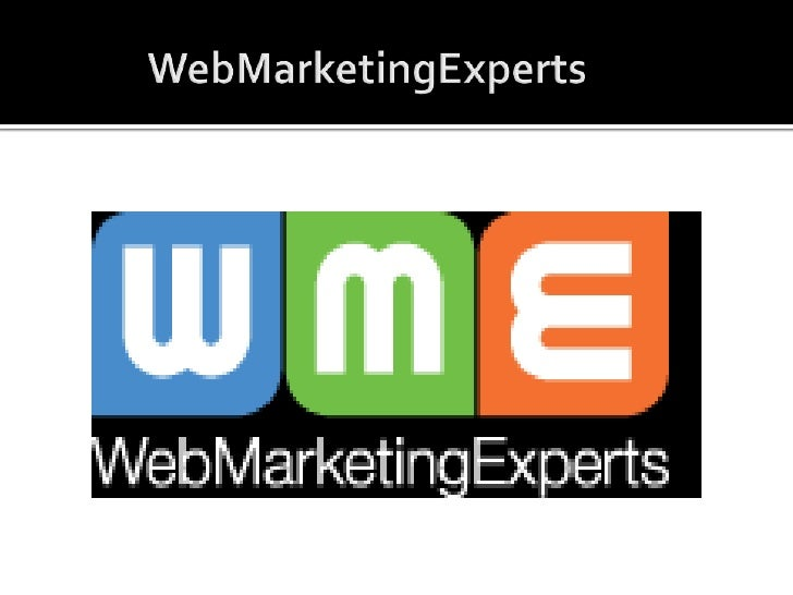WebMarketingExperts<br />