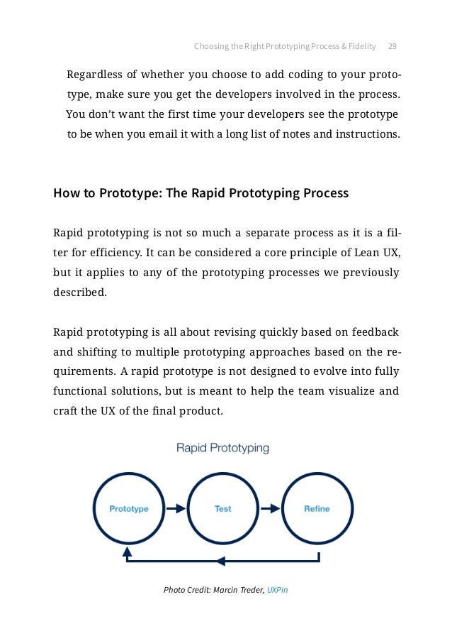 The ultimate guide to prototyping photo credit marcin treder uxpin 29 choosing the right prototyping process fandeluxe Choice Image