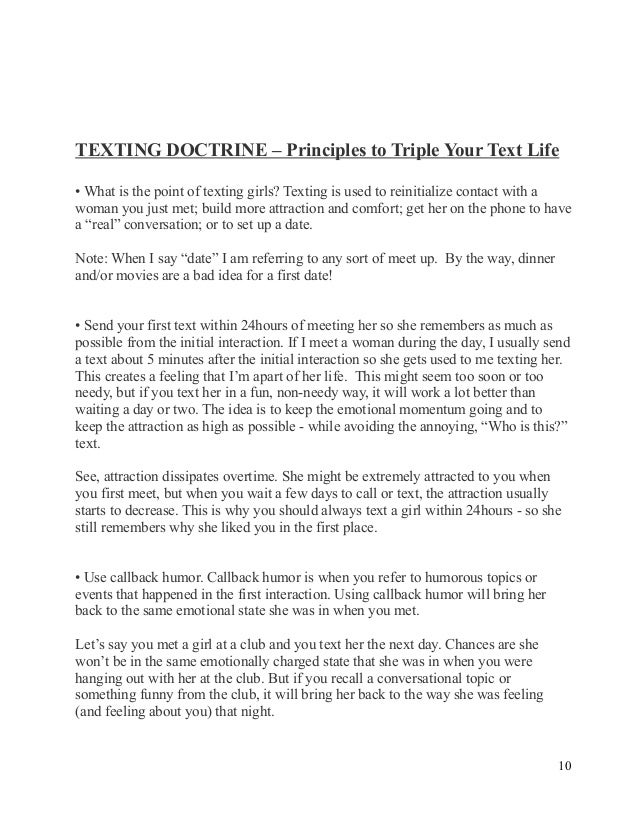 The ultimate guide to texting girls PDF EBook Download-FREE