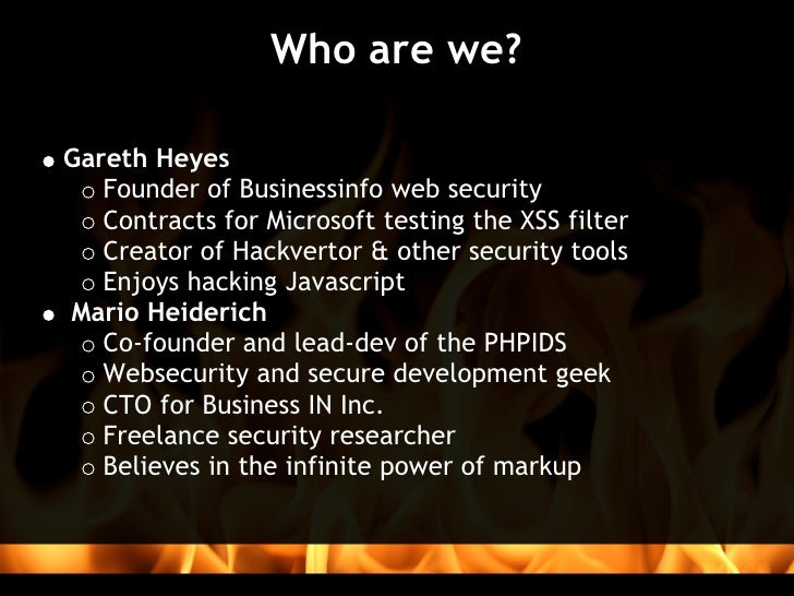 The Ultimate IDS Smackdown Slide 2
