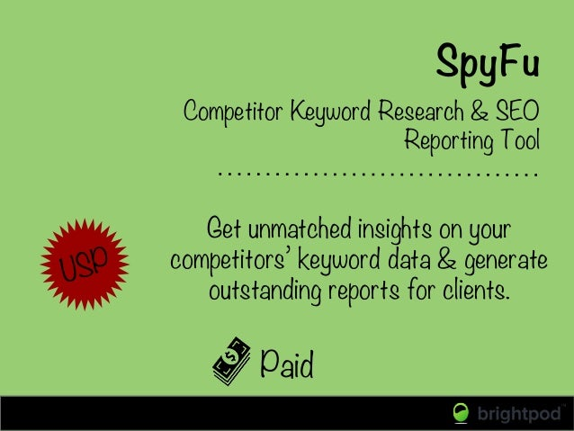 SpyFu Paid Competitor Keyword Research & SEO Reporting Tool Get unmatched insights on your competitors' keyword data & gen...
