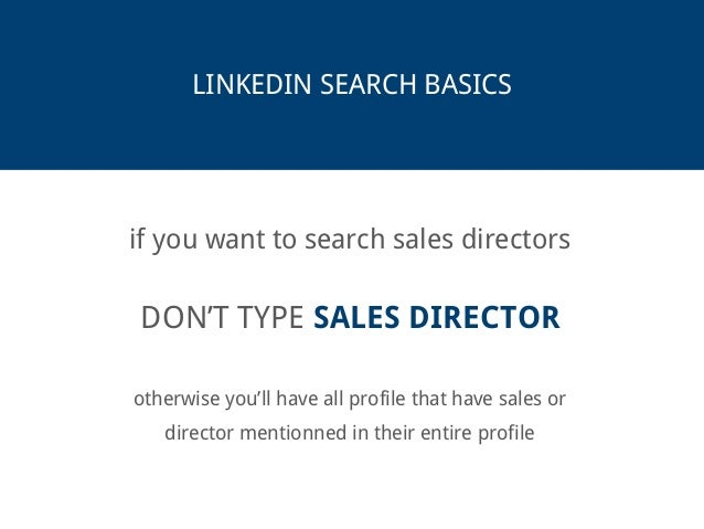 The Ultimate Linkedin Search Guide Slide 2