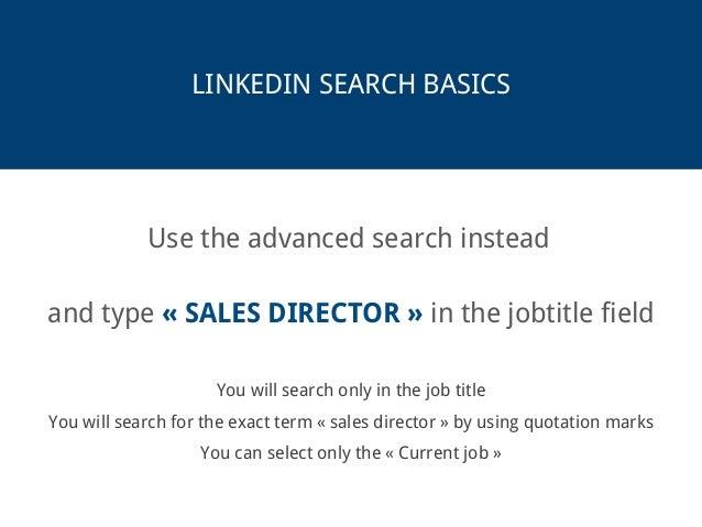 The Ultimate Linkedin Search Guide Slide 3