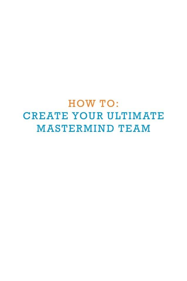 The Ultimate Mastermind Group Workbook Slide 3