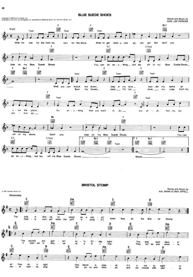 All Music Chords great balls of fire sheet music : The ultimate pop rock fake book