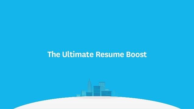 the ultimate resume boost xero