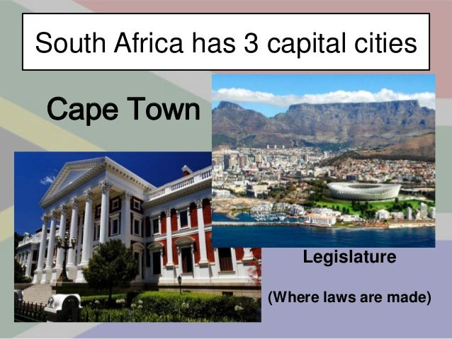 The Ultimate South African Powerpoint - Capital of south africa