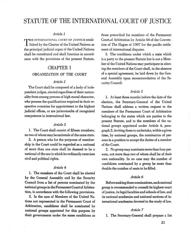 article 103 in n't charter