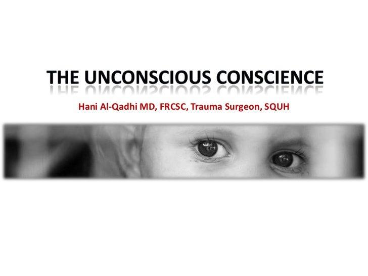 Hani Al-Qadhi MD, FRCSC, Trauma Surgeon, SQUH