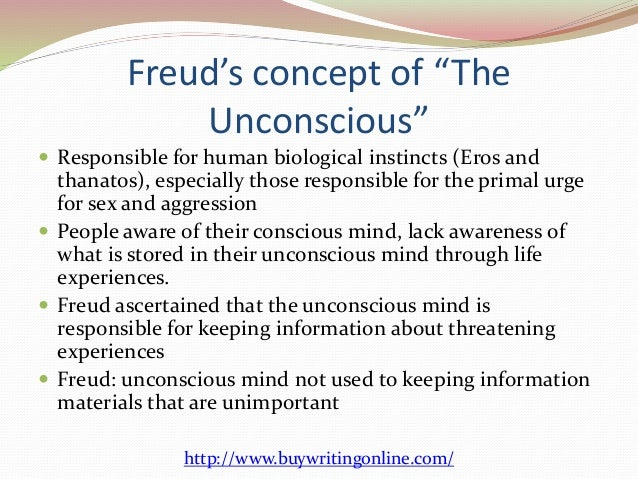 Subconscious mind and sex