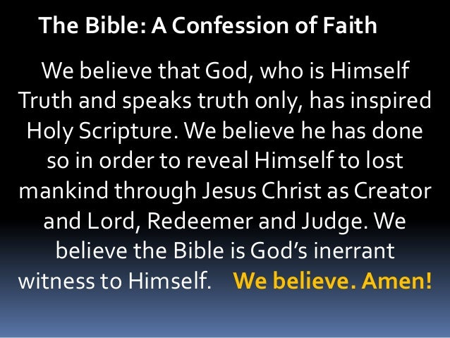 The Holy Bible, Inspired of God: A Look at the Evidence